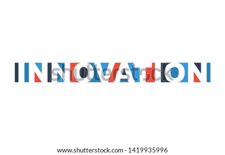 colorful vector illustration banner innovation