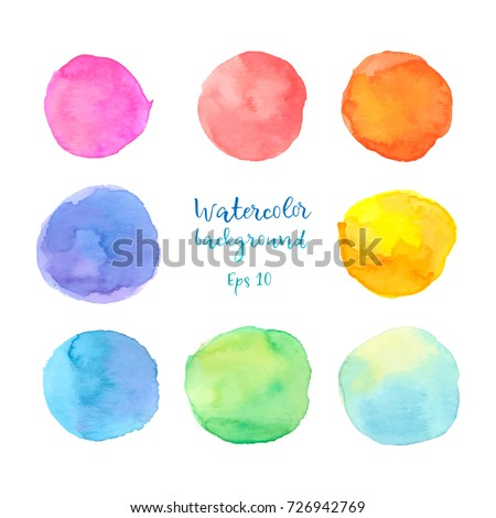 colorful vector isolated on