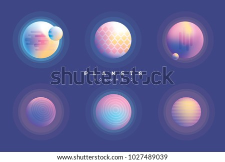 colorful vivid futuristic