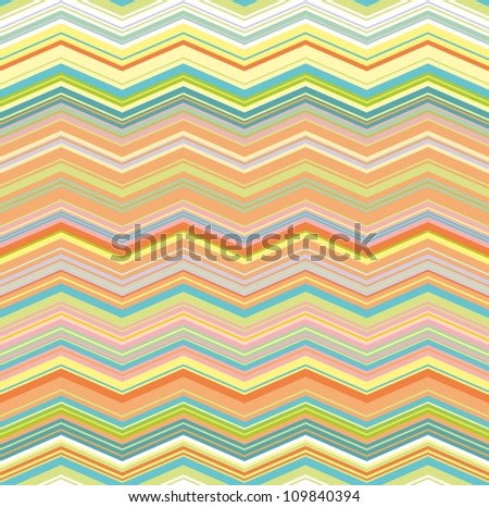 colorful wave seamless pattern