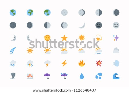 Weather Vector Illustration - Download Free Vectors, Clipart