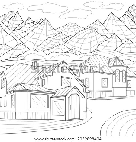 coloring book antistress  two