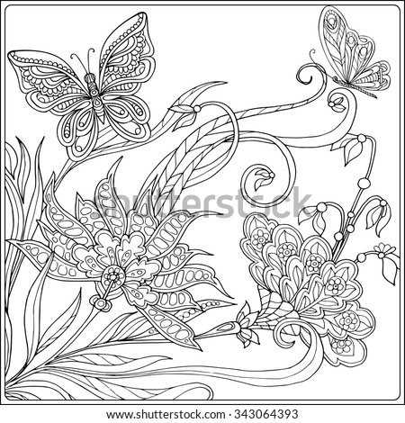coloring book for adult and