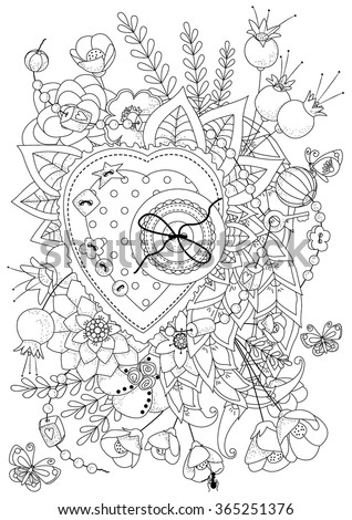 older valentines day coloring pages - photo#8