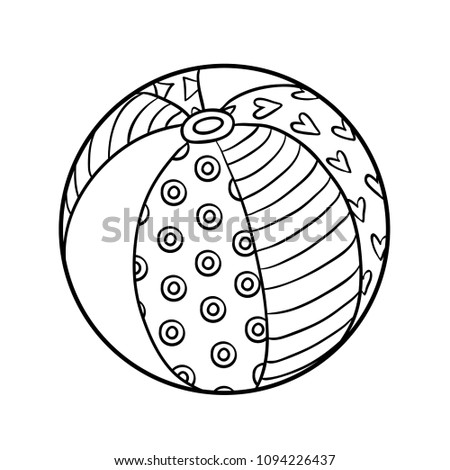 Ball Coloring Pages Printable At GetDrawings Free Download