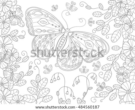 Free Colorful Butterflies Vector Download Free Vector Art Stock
