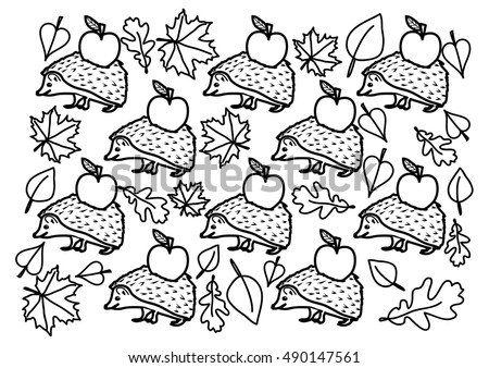 Coloring page - Autumn