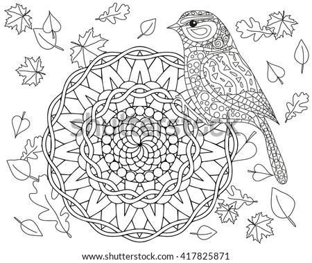 children coloring mandalas download free vector art stock