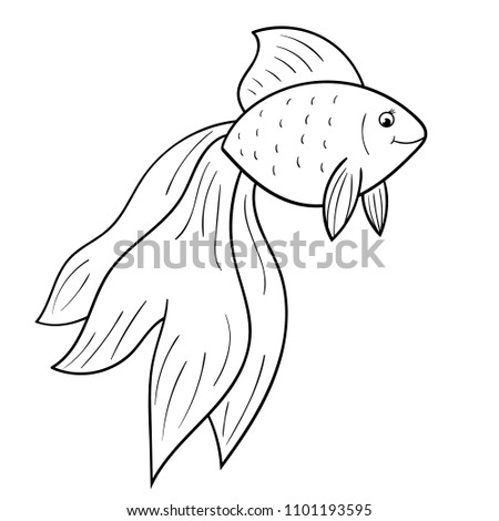 coloring page for kids cartoon