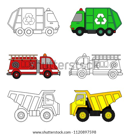 Dump Truck Coloring Pages Printable At GetDrawings Free Download