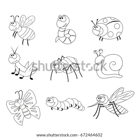 Free Vector Insects - Download Free Vector Art, Stock Graphics & Images