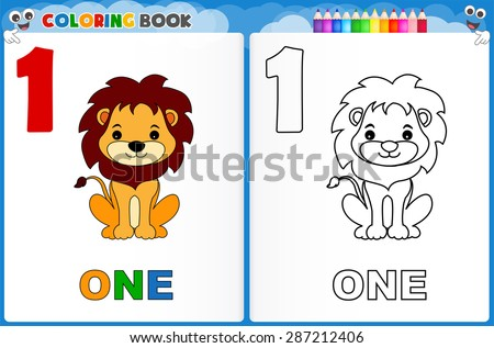Coloring Numbers Pages Download Free Vector Art Stock Graphics