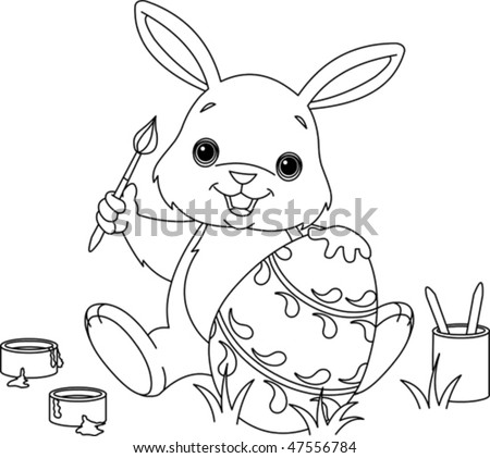 easter eggs colouring in. easter eggs colouring in