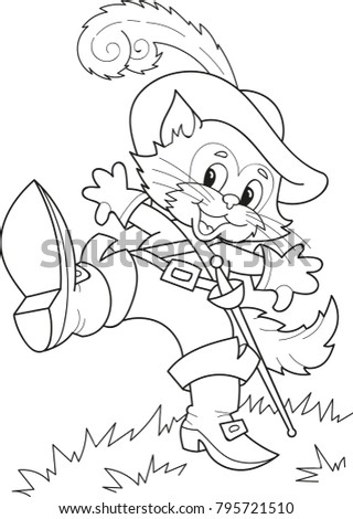 coloring page outline of