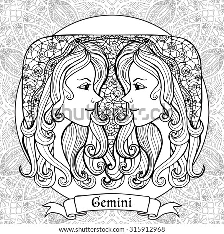 africain zodiac coloring pages - photo#28