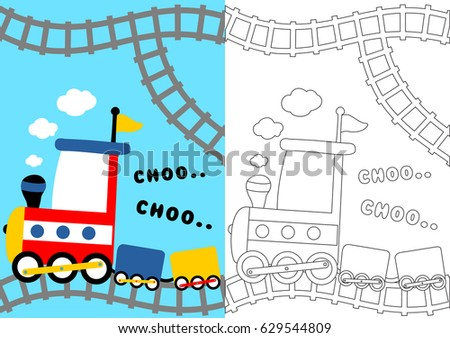 Classic Coloring Pages - Download Free Vector Art, Stock Graphics ...