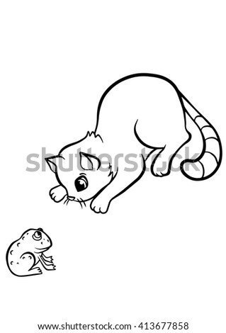 coloring pages animals little