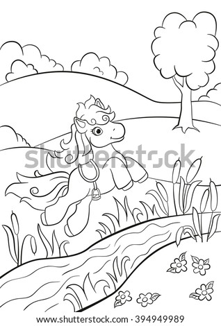 coloring pages little cute