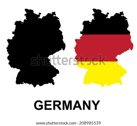 Colors of Germany VECTOR illustration