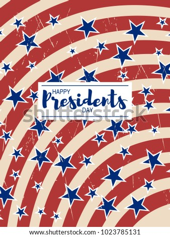 colors of usa flag background and lettering design message