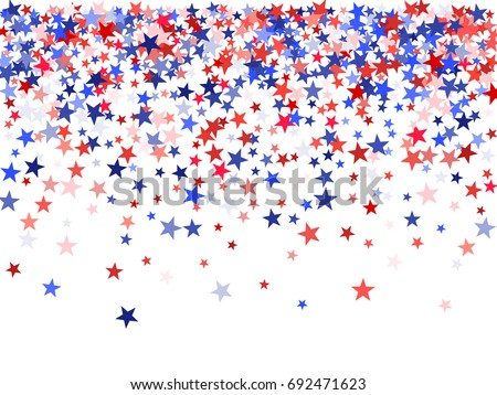 stock-vector-colors-of-usa-flag-background-blue-and-red-stars-falling-down-on-white-american-patriot-day