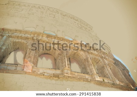 colosseum  coliseum  in rome