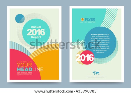 colourful annual report