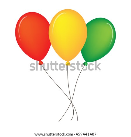 Colourful birthday or party balloons, Holidey balloons, balloons sign, balloons JPG, balloons EPS 10, balloons for web desig, balloons stock vector illustration, balloons design, balloons art