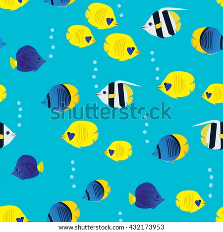 colourful seamless pattern with