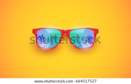 colourful sunglasses with