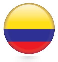 Columbia flag button