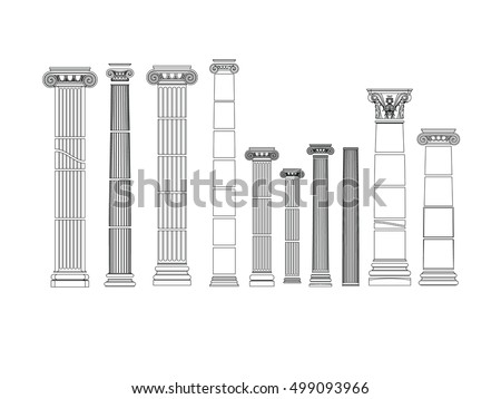 column architectural decorative