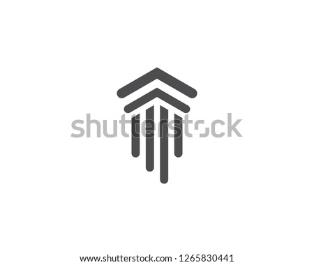 column Logo vector Template