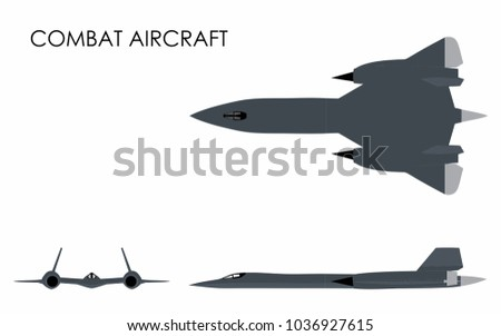 combat aircraft colored