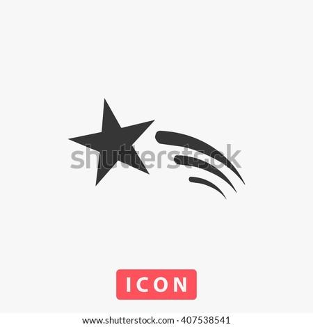 comet icon comet icon vector