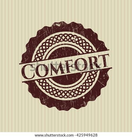 Comfort grunge style stamp