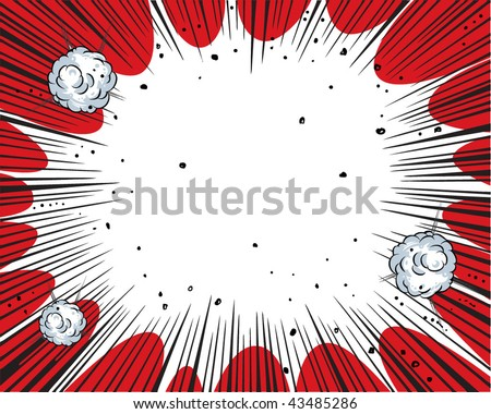art book comic wallpaper. stock vector : Comic book background