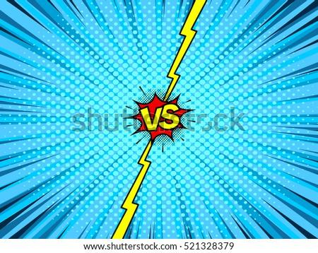 comic book versus template