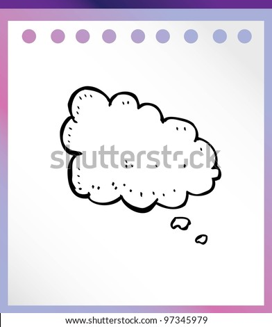 comic bubble quote for speech vector illustration doodle