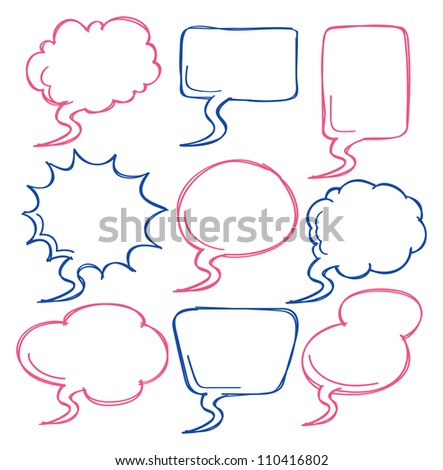 comic bubble speech