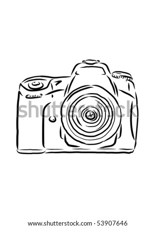 Slr Camera Cartoon