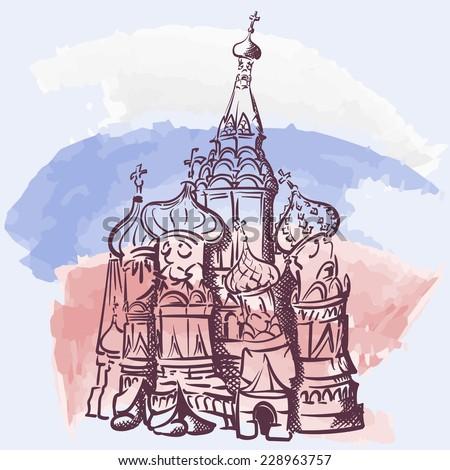 Russian Church Drawing Famous Russian Church st