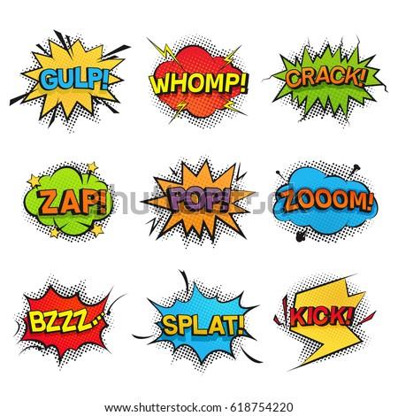 comic funny speech bubbles