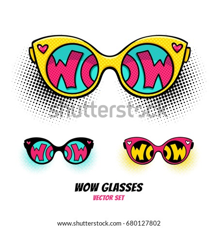 comic sunglasses with
