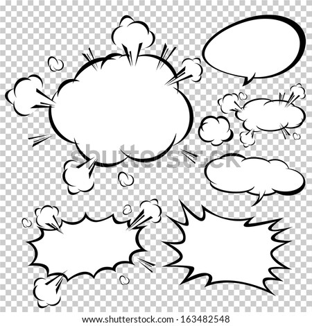 comic template vector