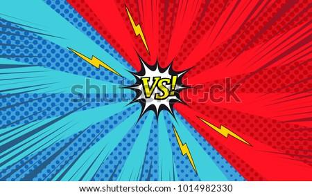 comic versus colorful