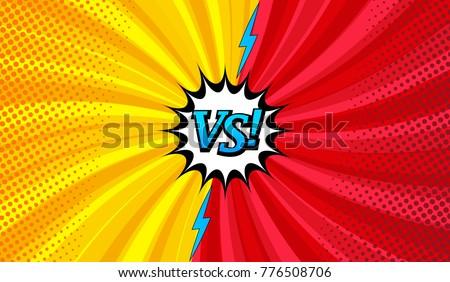 comic versus horizontal