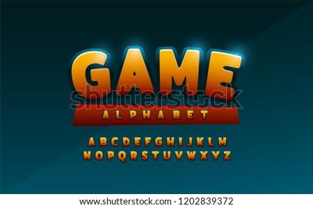 comics alphabet font. Typography comic logo designs concept. vector illustration