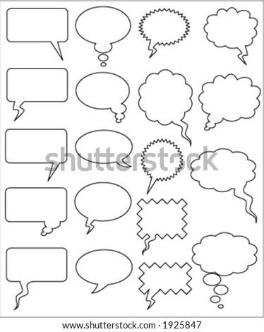 COMICS WORD (vector)