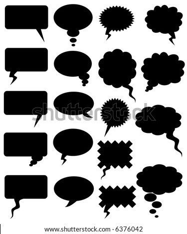 COMICS WORD (vector) - stock vector